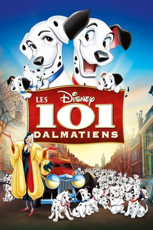 Les 101 Dalmatiens FRENCH DVDRIP 1961